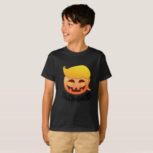 Trumpkin Halloween Funny T_Shirt