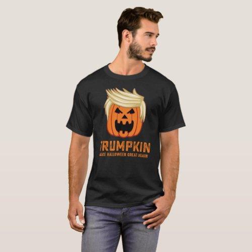 Trumpkin Halloween T_Shirt