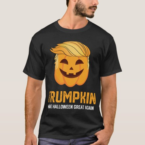 Trumpkin Shirt Make Halloween Great Again Trump