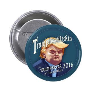 Trumplestiltskin 2 Inch Round Button