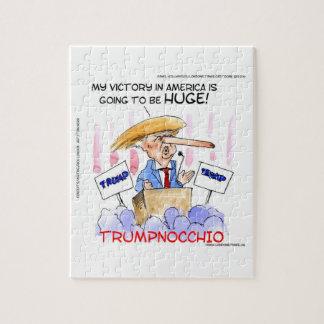 Trumpnocchio Funny Donald Trump Items Puzzle