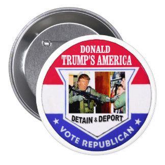 Trump's America 3 Inch Round Button