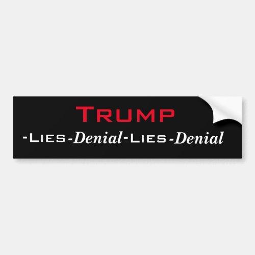 Trumps Cycle Bumper Sticker