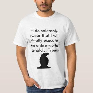 Trumps inauguration speech T-Shirt