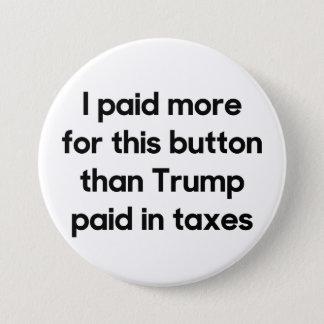 Trump's Taxes Button