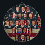 "Trump&#39;s White House Cabinet Dartboard<br><div class=""desc"">Trump&#39;s White House Cabinet</div>"