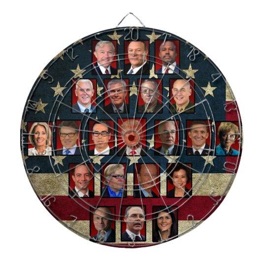 Trumpu0027s White House Cabinet Dartboard