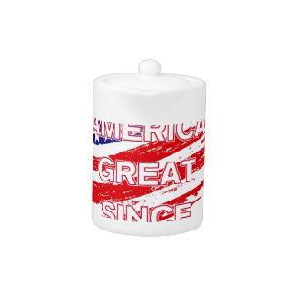 trumpSINCEflag Teapot