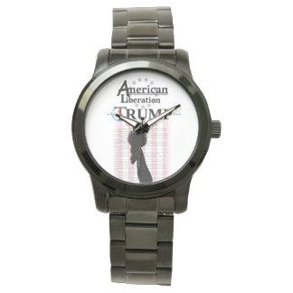 TrumpSquad - liberación americana Relojes De Mano
