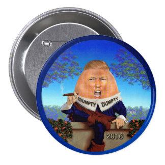 Trumpty Dumpty Pin Redondo De 3 Pulgadas