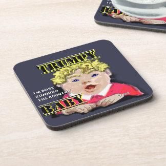 Trumpy Baby - Coasters - Set of 6