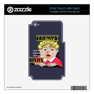 Trumpy baby MP3 Players Ipod Touch 4th Gen iPod Touch 4G Decal