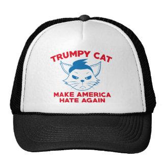 Trumpy Cat Trucker Hat