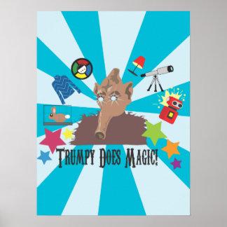 ¡Trumpy hace magia! Poster