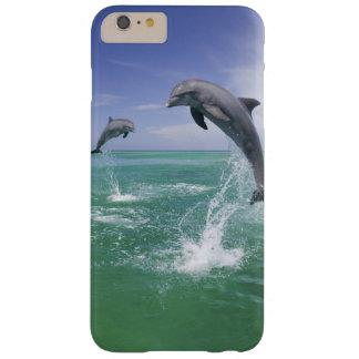 Truncatus) del Tursiops de los delfínes de Funda De iPhone 6 Plus Barely There