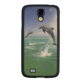 Truncatus) del Tursiops de los delfínes de Funda De Galaxy S4 Slim Arce