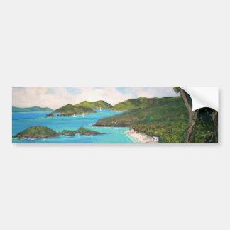 Trunk Bay - Bumper Sticker