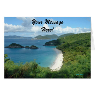 Trunk Bay, Dreaming! Card