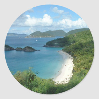 Trunk Bay, Dreaming! Classic Round Sticker