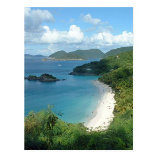 Trunk Bay, Dreaming! Postcard