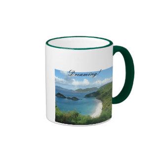Trunk Bay, Dreaming! Ringer Mug