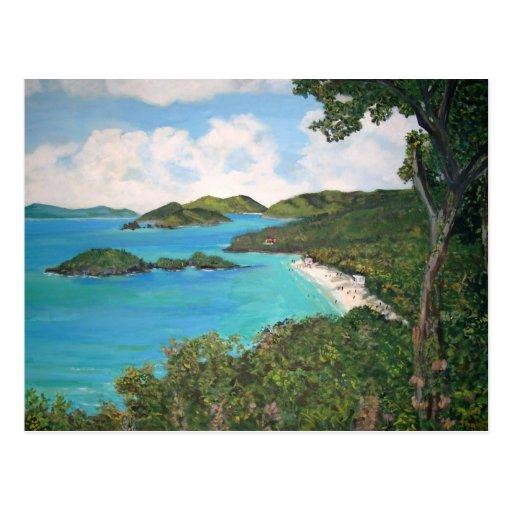 Trunk Bay Postcard