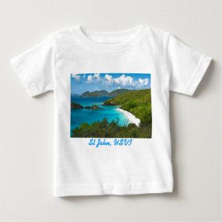 Trunk Bay, St John USVI Baby T-Shirt