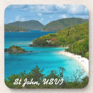 Trunk Bay St John USVI Coaster
