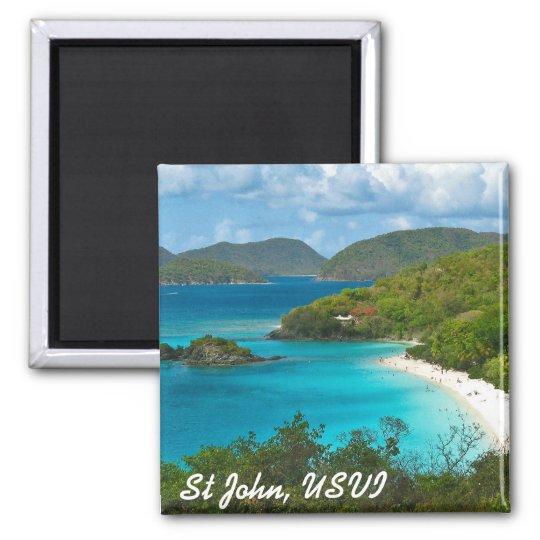 Trunk Bay, St John USVI Magnet