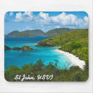 Trunk Bay, St John USVI Mouse Pad