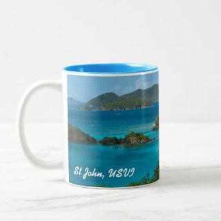 Trunk Bay, St John USVI Mug