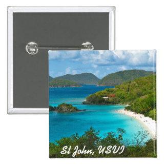 Trunk Bay, St John USVI Pins