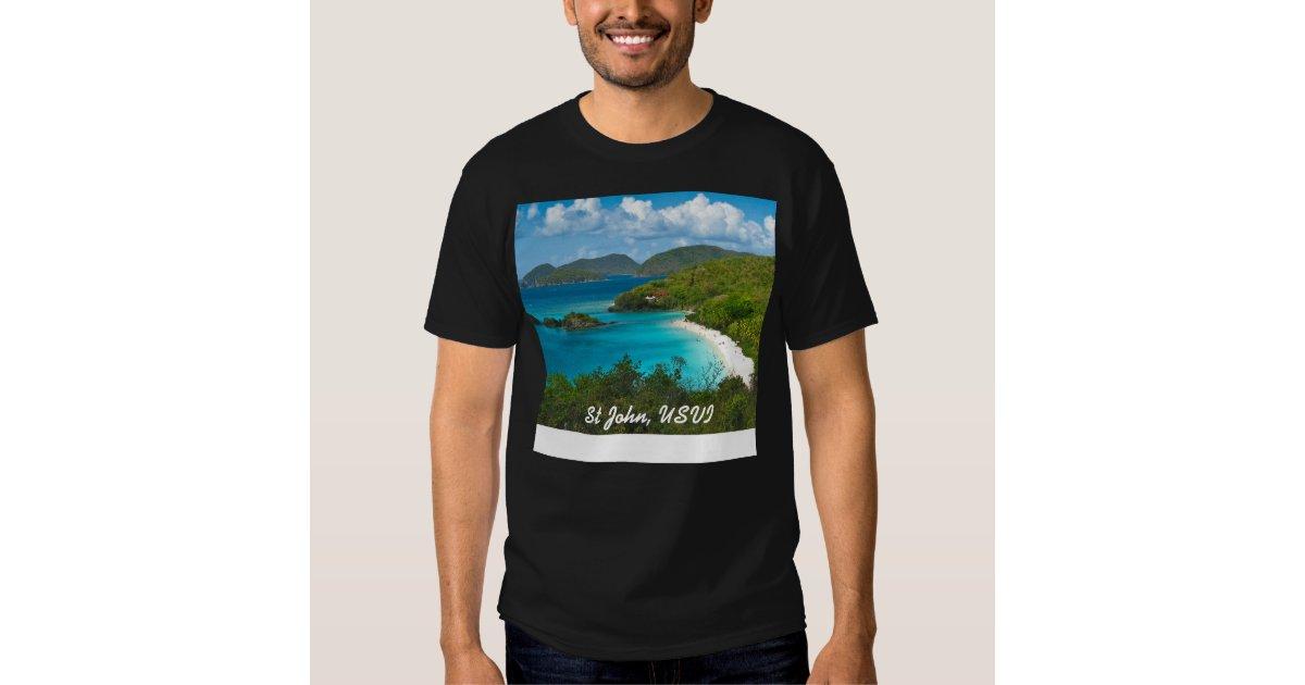 Trunk Bay St John Usvi T Shirt Zazzle