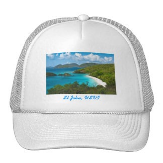 Trunk Bay, St John USVI Trucker Hat