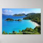 Trunk Bay, St. John, Virgin Islands National Park Poster