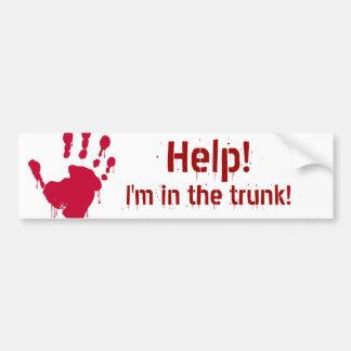 Trunk Bumper Sticker