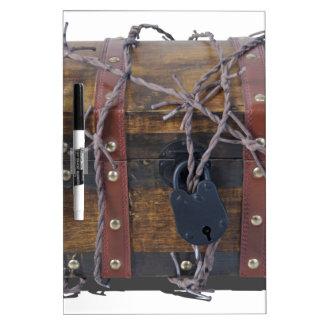 TrunkBarbedWirePadlock052414.png Dry-Erase Board