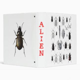 Truppe von alien vinyl binders