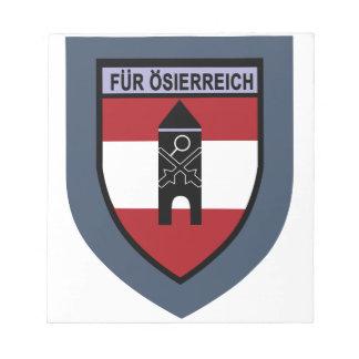 Truppenschule de Luftschutz- Bloc De Notas