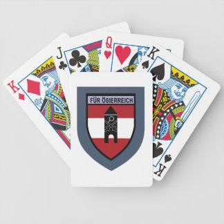 Truppenschule de Luftschutz- Baraja Cartas De Poker