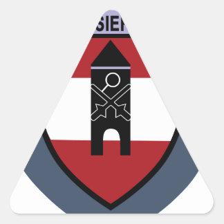 Truppenschule de Luftschutz- Calcomanía Triangulo Personalizadas