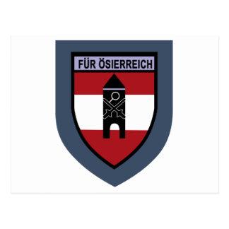 Truppenschule de Luftschutz- Tarjeta Postal