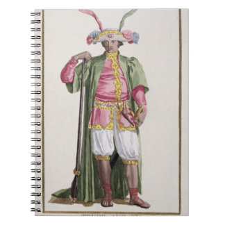 Truro-Audaty, King of Dahomey from 'Receuil des Es Spiral Notebook