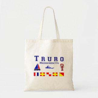 Truro MA Signal Flags Budget Tote Bag