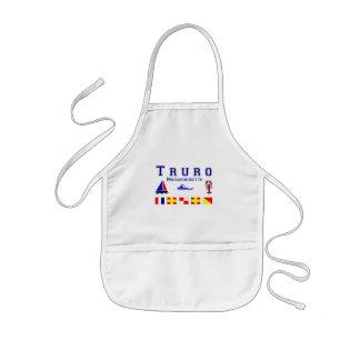 Truro MA Signal Flags Kids' Apron