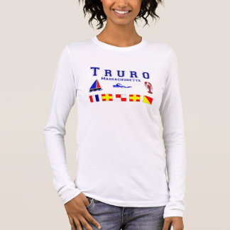 Truro MA Signal Flags Long Sleeve T-Shirt