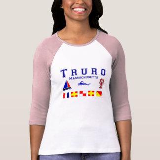 Truro MA Signal Flags T-Shirt