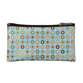"Trusses of make-up small size ""Flowers "" Cosmetic Bag"