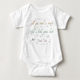 Trust and Pixie Dust Baby Bodysuit