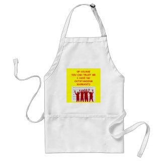 trust adult apron